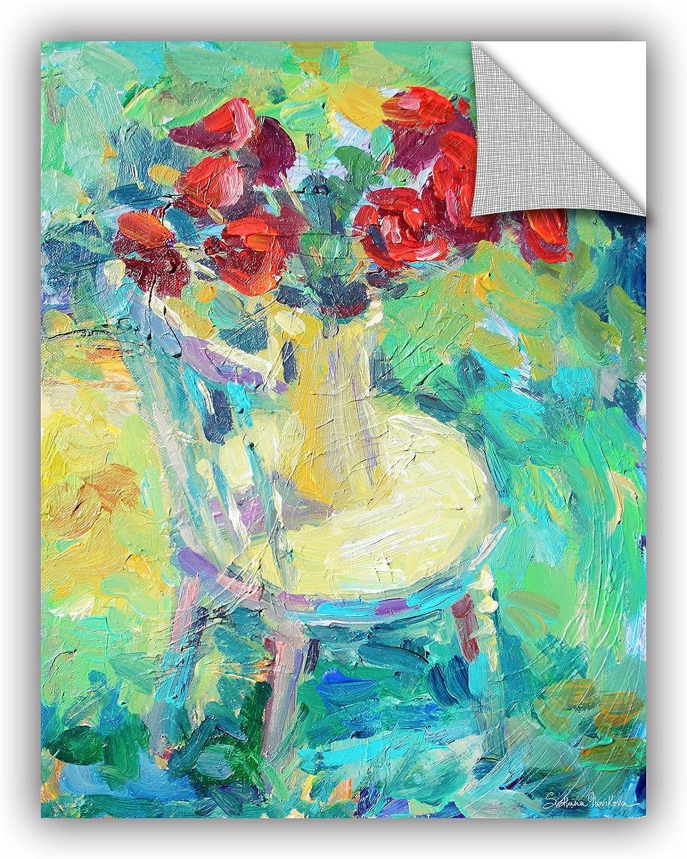 ArtWall Svetlana Novikova's Sunny pinks Art Appealz Removable Wall Art Graphic, 14 by 18-Inch