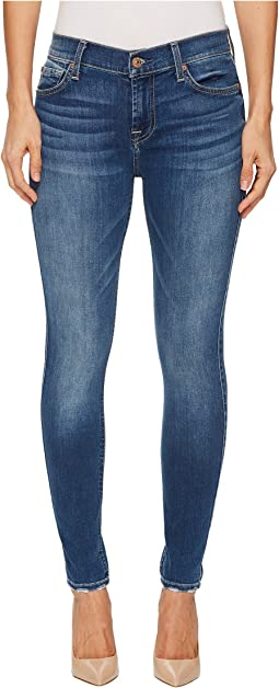 7 For All Mankind - The Ankle Skinny w/ Extreme Grinded Hem in Bella Heritage 3