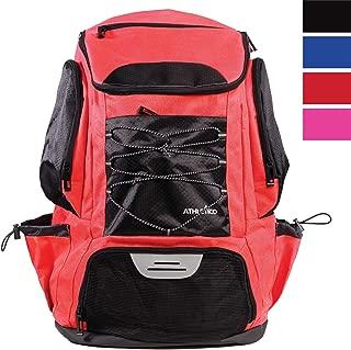 Athletico Swim Backpack - Swim Bag with Wet & Dry...
