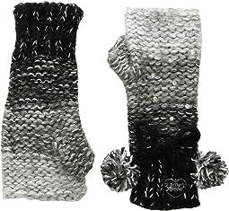 Crystal Light Knit Fingerless Gloves