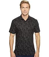 Perry Ellis - Short Sleeve Modern Geo Print Shirt
