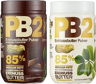 Bell Plantation PB2 Peanut Butter Powdered Mix Pack Original und Chocolate, 1er Pack 1 x 907 g