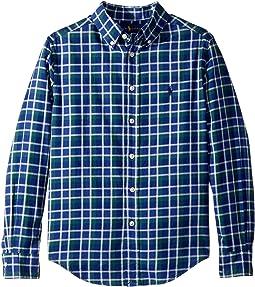 Polo Ralph Lauren Kids - Plaid Cotton Twill Shirt (Big Kids)