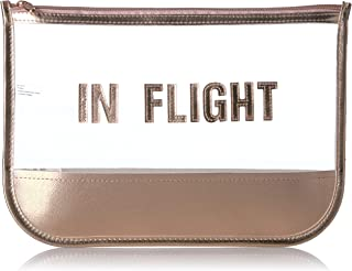 Miamica Women's Travel, Pouch Bag, in Flight, Rose Gold, One Size