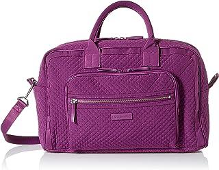 Vera Bradley womens Iconic Compact Weekender Travel Bag, Microfiber