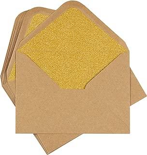 Best gold invitation envelopes Reviews