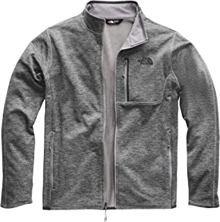 The North Face Men's Canyonlands Full Zip, TNF Medium Grey Heather, Size L