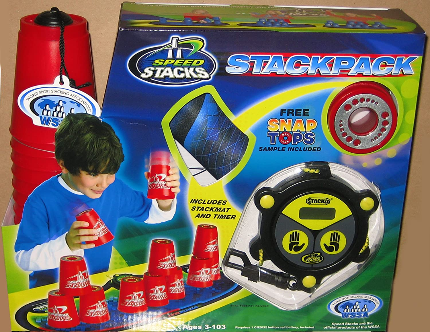 Speedstack RED Plastic Metallic C Competition Nippon regular agency shopping Stackpack Stacking