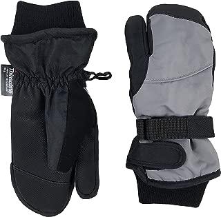 N'Ice Caps Kids Waterproof Trigger Finger Thinsulate Winter Mittens
