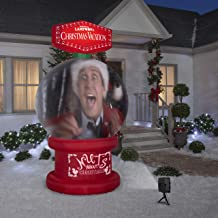 8' Living Projection National Lampoon's Christmas Vacation Snow Globe Airblown Inflatable