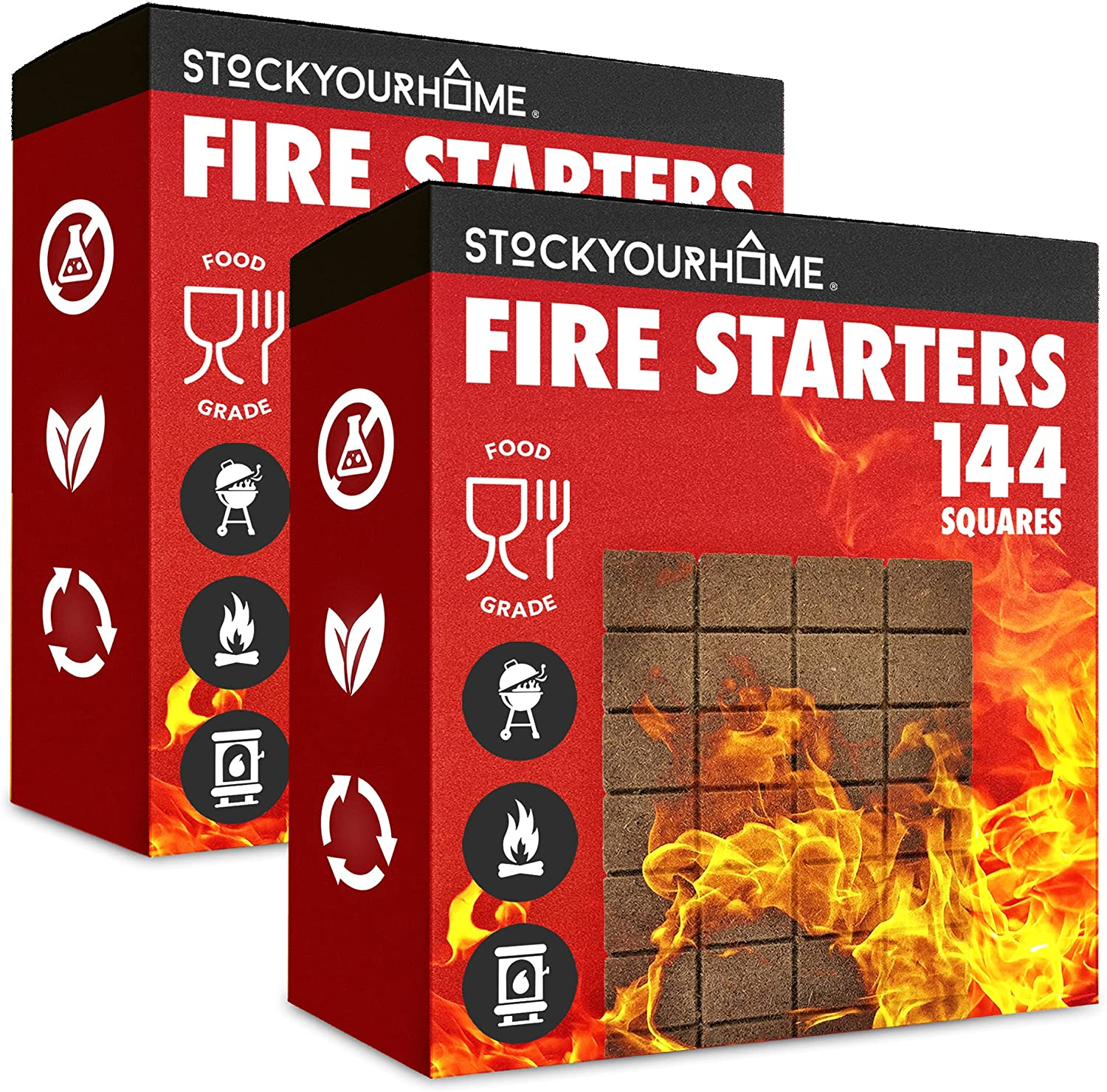 Stock Your Home Vegetable Oil Fire - New products, world's highest quality popular! Starters 288 Squares Eco- Spring new work