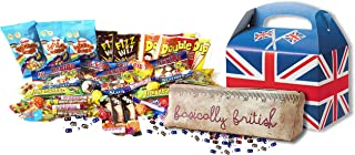 Retro candy by The Yummy Palette | Retro candy gift box British candy Retro nostalgic candy in Basically British Retro pencil case