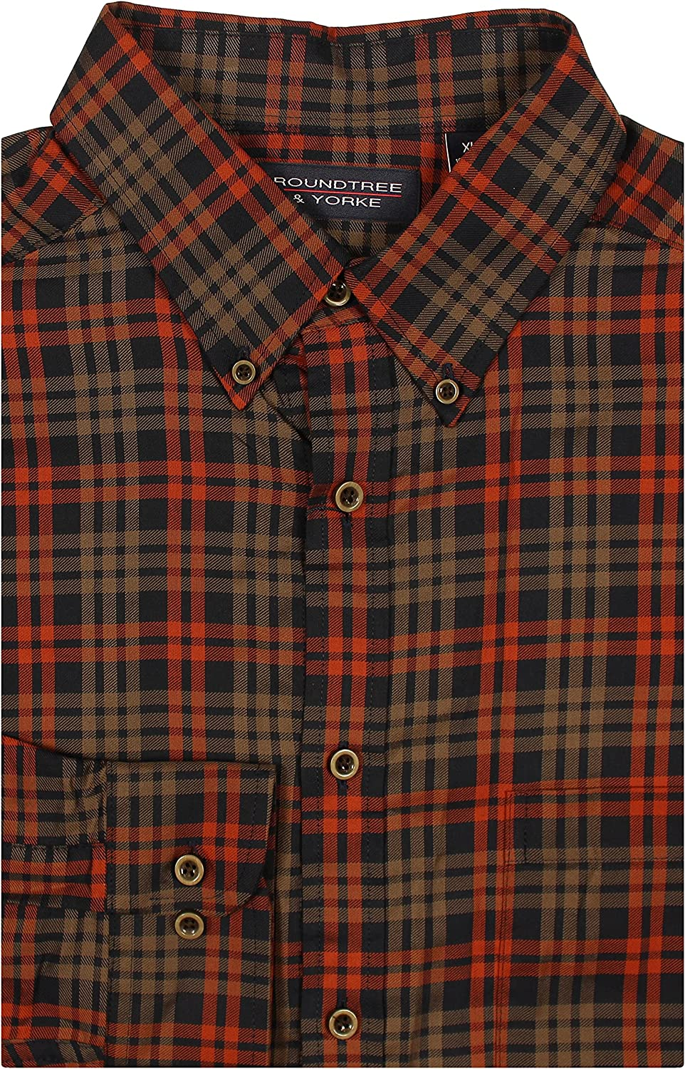 Roundtree Yorke Big and Tall Limited time for free shipping Luxury Men's Cotton Sleeve Long Import S