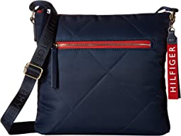 Kensington North/South Quilt Nylon Crossbody