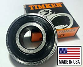 Timken 6203-2RS Bearing Made in USA 17mm x 40mm x 12mm