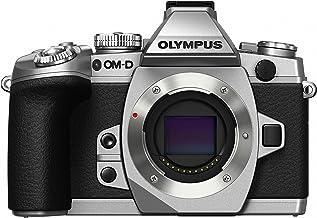 Olympus OM-D E-M1 16MP Mirrorless Digital Camera with 3-Inch LCD (Body Only) (Silver w/ Black Trim)
