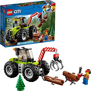LEGO City Forest Tractor 60181 Building Kit (174 Pieces)