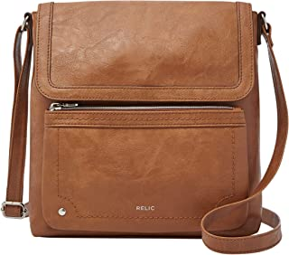 Relic by Fossil Women's Evie Flap Crossbody Handbag Purse