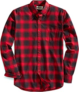 Amazon Brand - Goodthreads Men's Slim-Fit Long-Sleeve Plaid Oxford Shirt