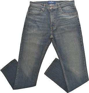 Arizona Men's Flex Slim Straight Fit Jeans Dark Tint