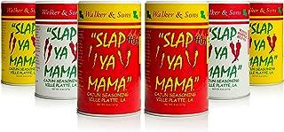 Slap Ya Mama All Natural Cajun Seasoning from Louisiana Spice Variety Pack, 8 Ounce Cans, 2 Cajun, 2 Cajun Hot, 2 White Pepper Blend
