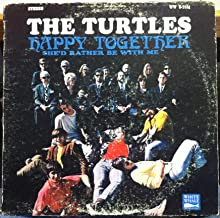 THE TURTLES HAPPY TOGETHER vinyl record