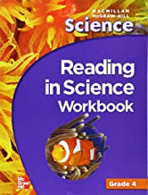Macmillan/McGraw-Hill Science, Grade 4, Reading in Science Workbook (OLDER ELEMENTARY SCIENCE)