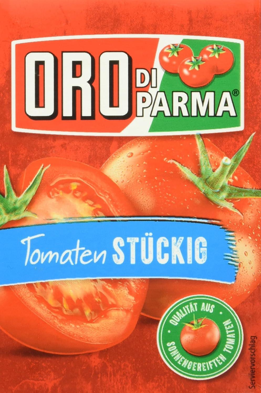 ORO di Parma Tomaten stückig, 8er Pack 8 x 8 g Packung