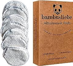 ✮ bambusliebe ✮ Bambus Wattest/äbchen ♻ f/ür Kinder /& Erwachsene ♻ Bambusst/äbchen /& flauschige Baumwolle ♻ Nachhaltig ✅ Vegan ✅ Kompostierbar ✅