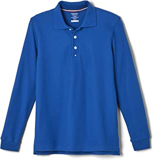 French Toast Men's Long Sleeve Pique Polo Shirt