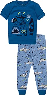 Petit Lem Boys' Little 2-Piece Pajama Set, Comfortable, Cute and Cozy Softness