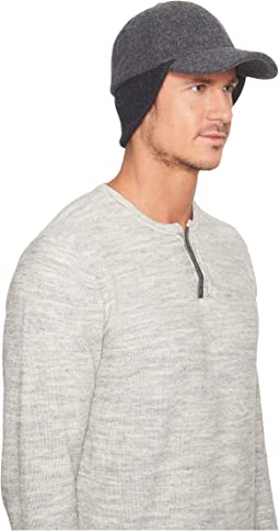 UGG - Wool Baseball Hat w/ Knit Trim