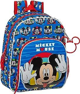 Mochila Infantil de Mickey Mouse Me Time, 280x100x340mm