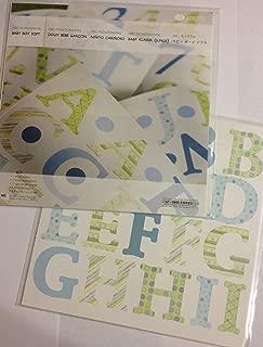 Baby Boy Soft ABC Monograms