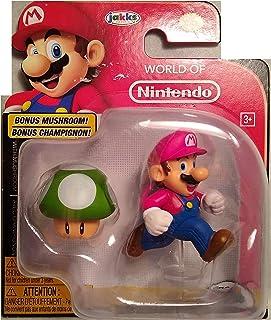 Jakks Mario Action Figure with Mushroom