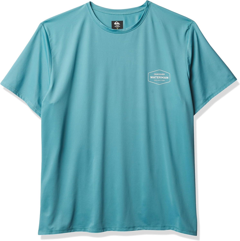 Quiksilver Men's Gut Check Ss Short Sleeve Rashguard Surf Shirt : Clothing, Shoes & Jewelry