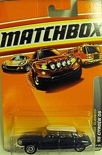 MatchBox 2010 Cars - Heritage Classics - Blue '68 Citroen DS