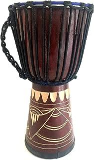 Djembe Drum Bongo Congo African Wood Drum 16