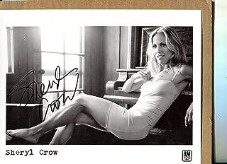 SHERYL CROW very sexy mini skirt signed 8x10 photo Beckett COA
