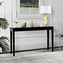 Safavieh Home Collection Kayson Mid-Century Scandinavian Black Console Table