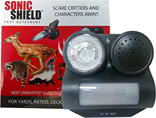 Bird B Gone MMSS-GRD/D Sonic Shield Sound and Light Pest Repellent