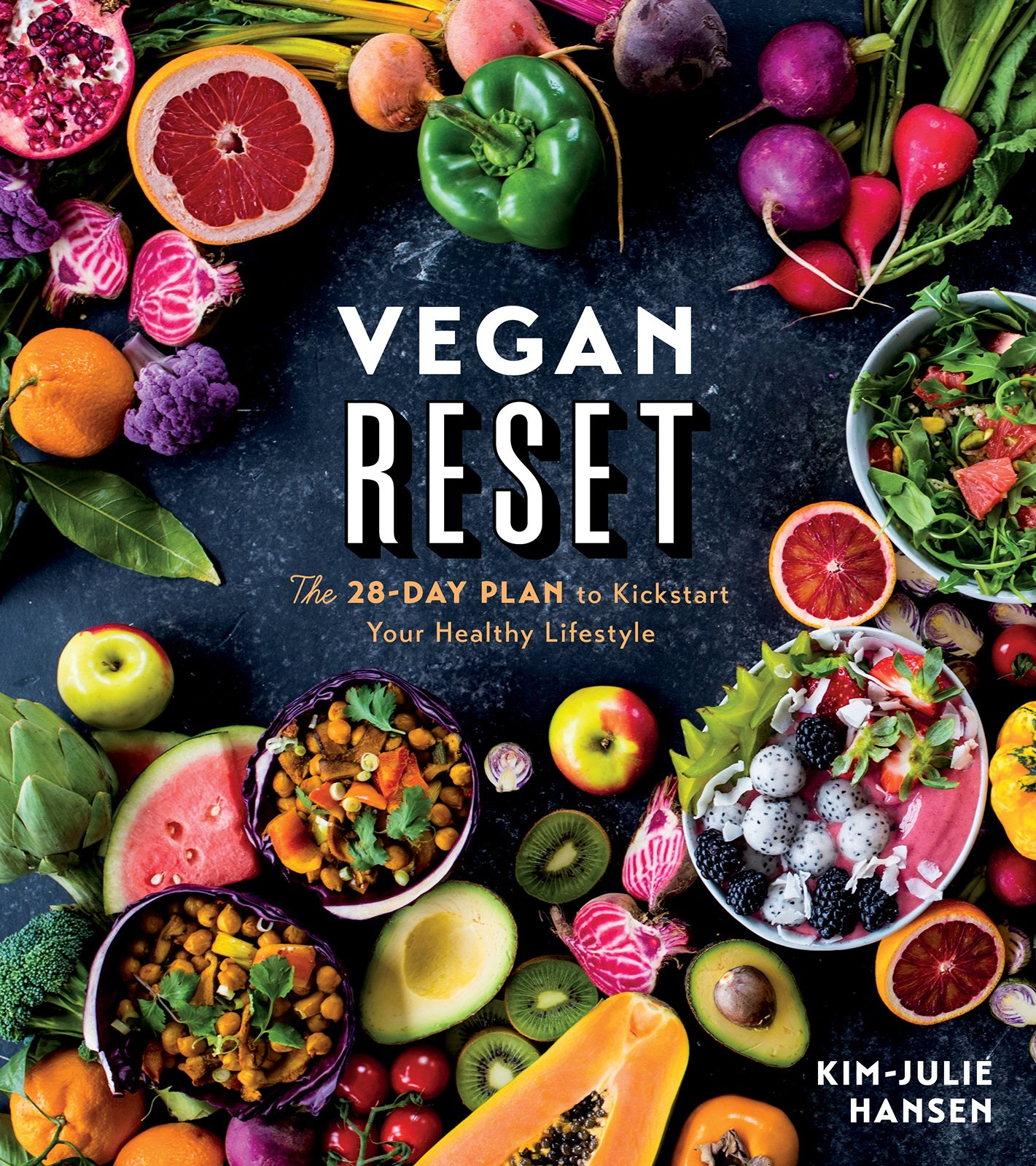 Image OfVegan Reset: The 28-Day Plan To Kickstart Your Healthy Lifestyle