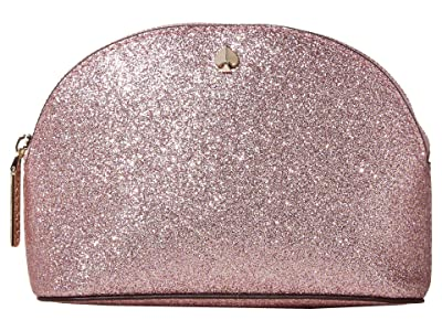 Kate Spade New York Burgess Court Small Dome Cosmetic (Rose Gold) Cosmetic Case