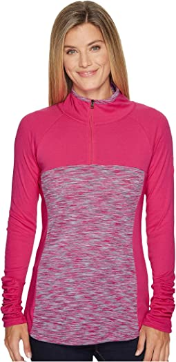 Columbia Tested Tough in Pink Outerspaced 1/2 Zip