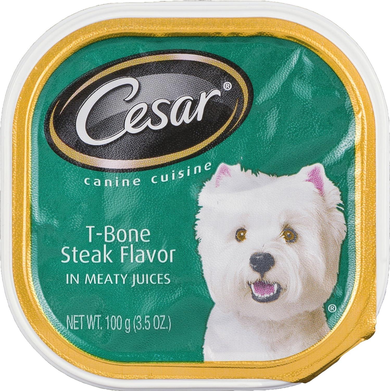 Cesar TBone Steak Flavor Canine Cuisine
