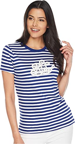 Monogram Striped T-Shirt