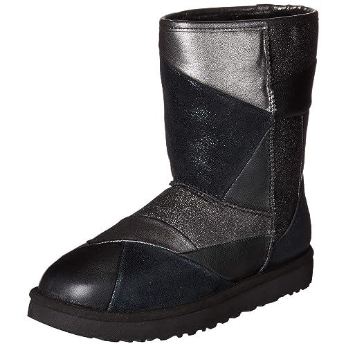 7c2653cf6ebf UGG Women's W Classic Glitter Patchwork Fashion Boot
