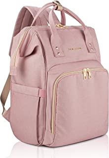 Amilliardi Diaper Bag Backpack - 6 Insulated Pockets - Stroller Straps
