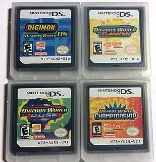4 Popular Digimon Ds Games: Digimon World Ds; Digimon World:dusk; Down; Championship