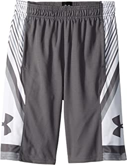 Under Armour Kids Space The Floor Shorts (Big Kids)